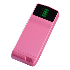 Pink Cager B039 Ultra-thin Mini Mobile Power Bank 3000mAh for iPhone Samsung Xiaomi Smartphone MP3