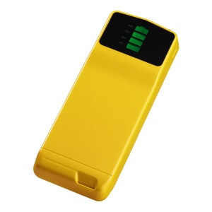 Yellow Cager B039 Ultra-thin Mini Mobile Power Bank 3000mAh for iPhone Samsung Xiaomi Smartphone MP3