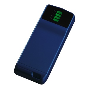 Blue Cager B039 Ultra-thin Mini Mobile Power Bank 3000mAh for iPhone Samsung Xiaomi Smartphone MP3