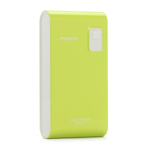 Pisen Color Power Mobile Charger 5600mAh for iPhone iPad mini Samsung HTC - Green