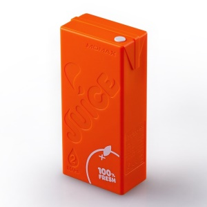 MOMAX iPower Juice 4400mAh External Battery for iPhone iPad Sony Samsung etc - Orange