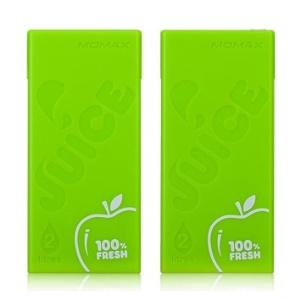 MOMAX iPower Juice 4400mAh External Battery for iPhone iPad Sony Samsung etc - Green