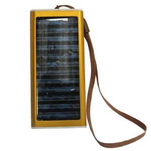 Universal Solar Power Battery Charger for Mobile Phone Camera PDA MP3 MP4 (1350mAh)