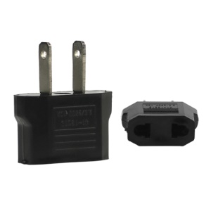 EU or AU Plug to US Plug Power Convertor Adapter