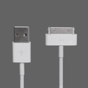 USB Data Sync Charger Cable for The New iPad iPhone 4S 4 3GS 3G, Length: 1M