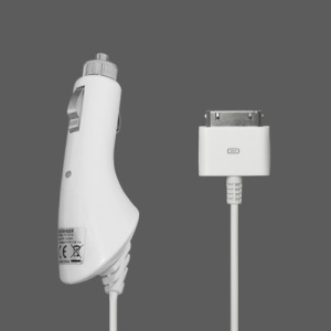 Premium 2.1A Car Charger for The New iPad iPad 2 iPhone iPod, good quality