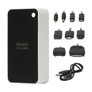 8800mAh iMobile Power Bank for iPhone iPad iPod Samsung HTC BlackBerry LG Nokia GPS etc