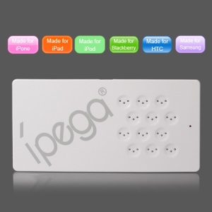 iPega Magnetic Induction Charger for iPhone iPad iPod HTC Samsung LG Motorola BlackBerry - White