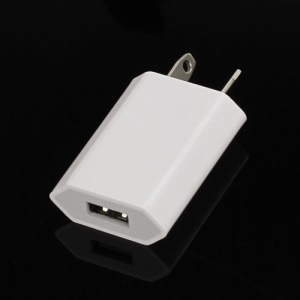 1A USB Power Charger Adapter for iPhone 5 4S 4 3GS 3G iPod A1300 - AU Plug