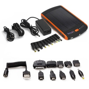 23000mAh Solar Power External Battery for iPhone iPad iPod Samsung Nokia HTC LG Sony BlackBerry Motorola Laptop PSP NDS etc