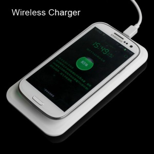 Qi Wireless Charger Pad and Receiver for Samsung i9300 Galaxy S3