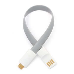 Magnetic Bracelet Gold Plated Data Sync Charger Cable for Samsung HTC Sony Nokia LG BlackBerry etc