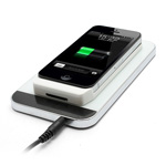 New QI Wireless Power Charger for iPhone 4 4S with Charger Adapter