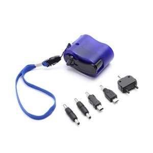 Emergency Hand Crank Dynamo Self Powered Charger for Samsung HTC Sony LG etc
