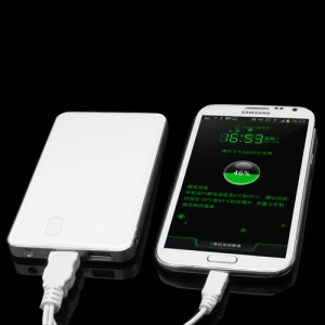6000mAh Dual USB Power Bank Battery Charger for iPad iPhone Samsung HTC LG PDA GPS etc IP062