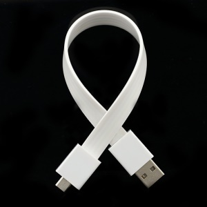 Bracelet Magnet Micro USB Charger Cable for Samsung Galaxy S4 i9500 S3 i9300 HTC Sony - White