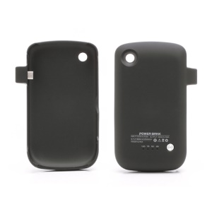 1800mAh Power Pack Battery Charger Case for BlackBerry Curve 8520 - Black