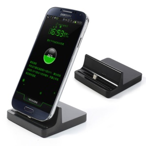 Micro 5Pin Dock Cradle Desktop Charger for Samsung Sony LG HTC Etc - Black