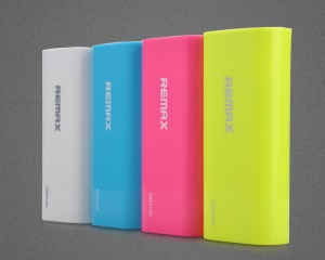 Remax 5000mAh Mobile Power Bank for Samsung HTC LG Sony Nokia Etc;Blue