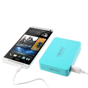 Blue Leyou LY-900 11200mAh 2 USB Output Mobile Power Bank for iPhone iPad Samsung HTC Sony