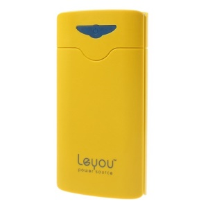 Yellow Leyou LY990 16800mAh 2 USB Output Power Bank for iPhone iPad iPod Samsung HTC LG Sony