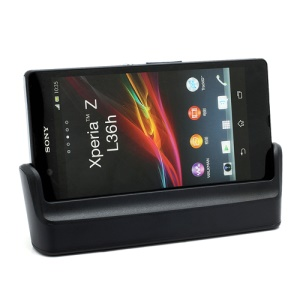 Desktop Sync Charging Cradle Dock Station with Micro USB Cable for Sony Xperia Z C6603 C6602 HSPA+ LTE