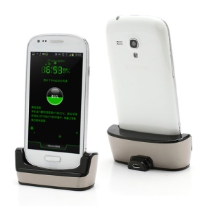 Desktop USB Sync Cradle Dock Charger for Samsung Galaxy S3 Mini i8190
