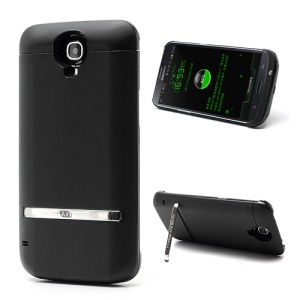 Black 5200mAh Outer Battery Charger Case for Samsung Galaxy Mega 6.3 I9200