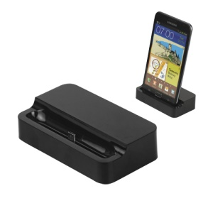 Dock Charger Desktop Cradle for Samsung Galaxy Note i9220 N7000 / i717 - Black