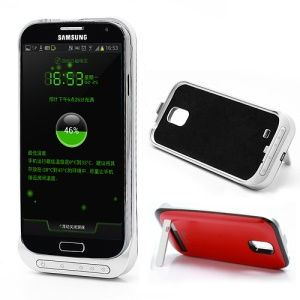 3200mAh External Battery Charger Case for Samsung Galaxy S IV S4 i9500 i9502 i9505 - Red