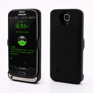 3600mAh External Battery Charger Case for Samsung Galaxy S4 i9500 - Black