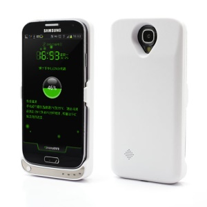 3600mAh External Battery Charger Case for Samsung Galaxy S4 i9500 - White