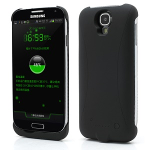 3300mAh Battery Backup Power Bank Supply Case for Samsung Galaxy S IV S4 i9500 i9502 i9505 - Black