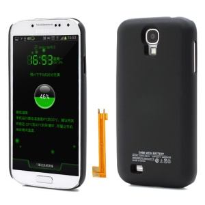 Keva Backup Battery Cover Housing for Samsung Galaxy S IV S4 i9500 i9502 i9505 2400mAh - Black