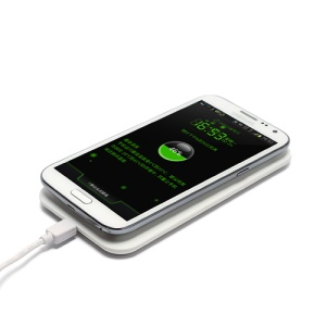 Qi Inductive Wireless Charger Kit (AC Adapter + Receiver + Charging Pad) for Samsung Galaxy Note II N7100