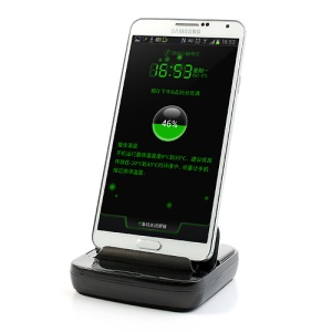 Black for Samsung Galaxy Note 3 Micro USB 3.0 Desktop Super Speed Sync Charging Dock