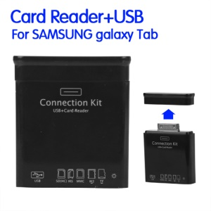 USB + Card Reader Connection Kit for Samsung Galaxy Tab 10.1 P7500 P7510 8.9 P7300 P7310