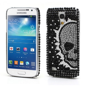 Skull Heads Diamond Crystal Case for Samsung i9190 Galaxy S4 mini