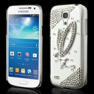 Fluttering Butterfly Diamante Case for Samsung Galaxy S4 mini i9190