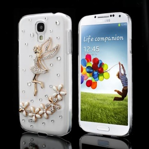 Beautiful Angel Rhinestone Case Cover for Samsung Galaxy S IV S4 i9500 i9505