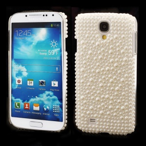 White Pearl Plastic Case Shell for Samsung Galaxy S IV 4 i9500 i9505
