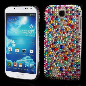 Glittery Colorized Rhinestone Case Cover for Samsung Galaxy S IV 4 i9500 i9505