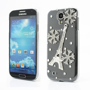 Bling Bling Eiffel Tower Crystal Rhinestone Case for Samsung Galaxy S IV 4 i9500 i9505