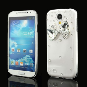 Crystal Bowknot Diamond Case for Samsung Galaxy S IV 4 i9500 i9505