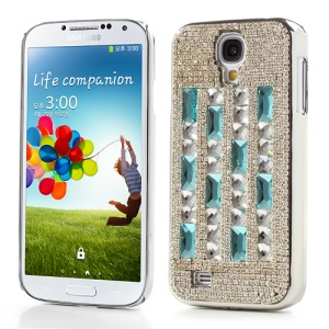 Bling Bling Crystal Diamante Hard Plating Case for Samsung Galaxy S IV 4 i9500 i9505 i9502