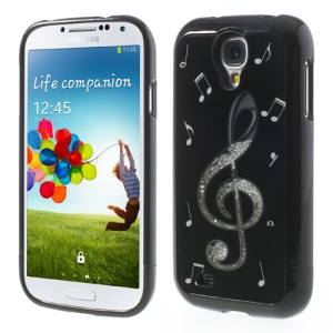 Music Note Diamond 3 in 1 Hard Shell for Samsung Galaxy S4 I9502