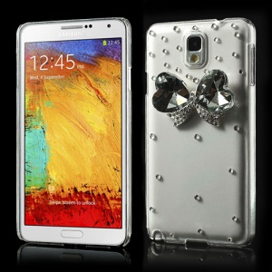 Deluxe 3D Bowknot Diamond Crystal Case for Samsung Galaxy Note 3 N9005 N9002