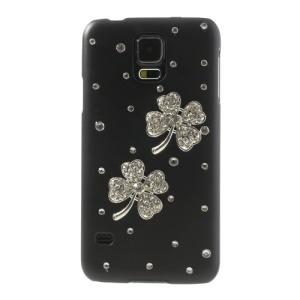 Heart Shaped Petal Diamond Cover for Samsung Galaxy S5 G900 G900F