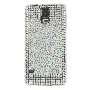Sparkling White Rhinestone Hard Shell Case for Samsung Galaxy S5 G900