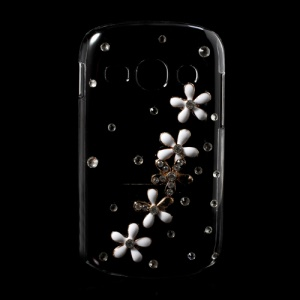 Sparkling Diamante Pretty Flower Rhinestone Case for Samsung Galaxy Fame S6810